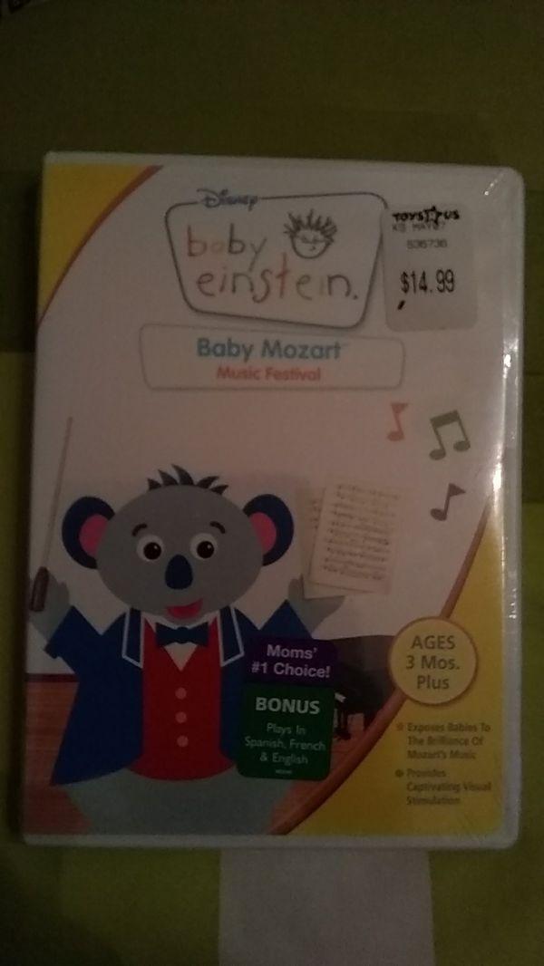 Baby Einstein Baby Mozart NEW SEALED DVD for Sale in San Francisco, CA -  OfferUp