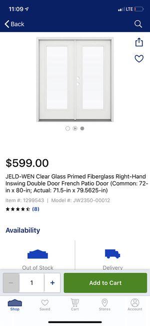 Photo Brand new jeld-wen right hand door