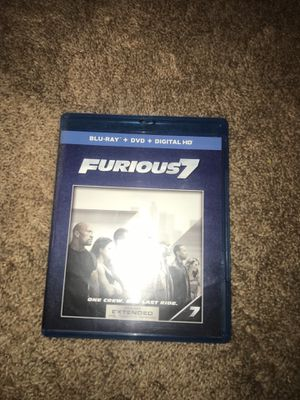 Blue-Ray-DVD-Digital HD Furious 7 Extended & theatrical Version for 20$ for Sale in Westminster, MD