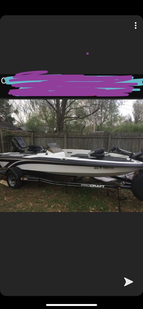 1999 procraft 16ft bass with 50hp mercury force
