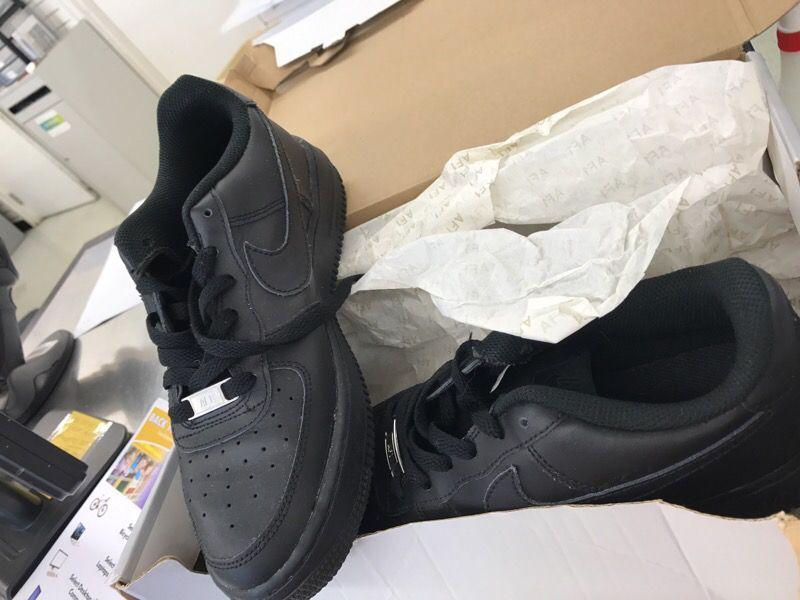 Black Nike Air Force One