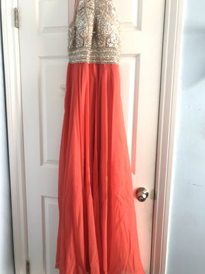 Tangerine Floor-length Dress for Sale in Fullerton, CA