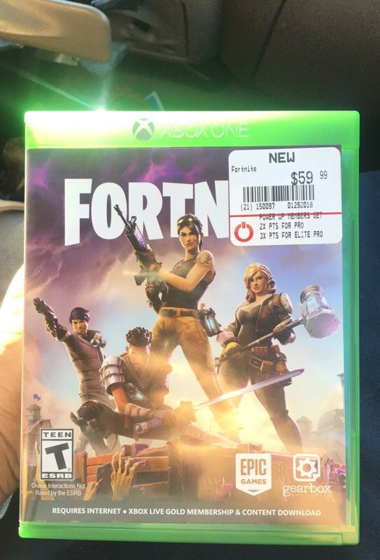 Fortnite Game For Xbox One For Sale In Fort Worth Tx Offerup