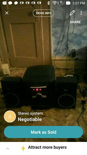 Stereo system for Sale in Rainelle, WV