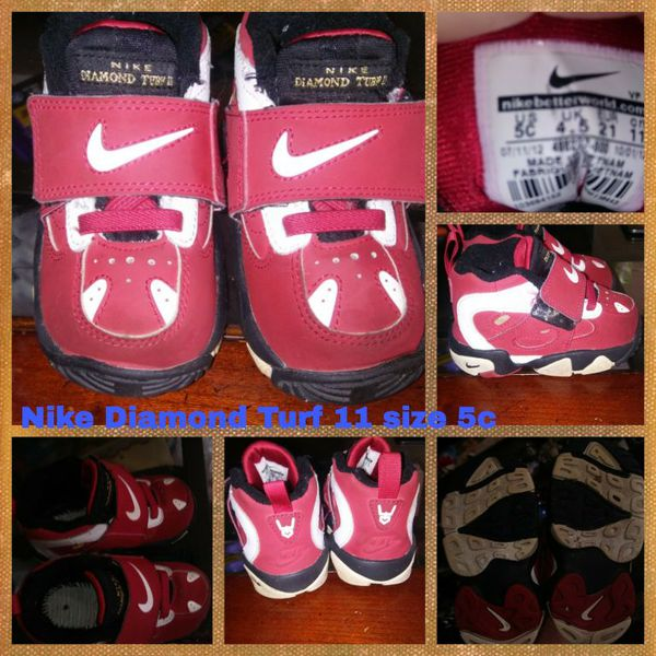 726a5d6254b3 Nike Diamond Turf 11 size 5c for Sale in West Allis