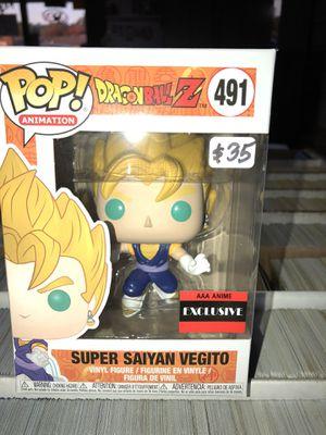 Super Saipan Vegito Dragon Ball Z AAA Anime Exclusive #491 for Sale in La Habra, CA