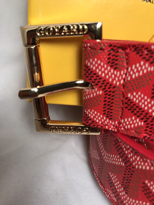 f176f5bd573bf Goyard Belt red for Sale in Atlanta, GA - OfferUp