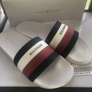 aa7b6f62a new tommy men slides for Sale in Boca Raton