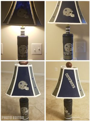 Dallas Cowboys Football Lamp for Sale in Fort Washington, MD