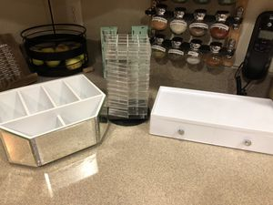 Beauty/makeup organizers for Sale in Fort Belvoir, VA