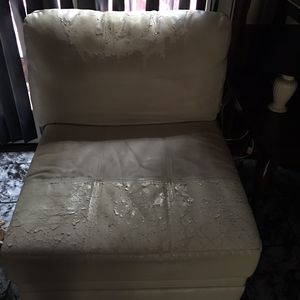 2 side leather chairs for Sale in Arrington, VA