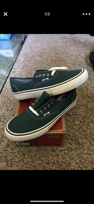 Vans Authentic Pro ( Balsam ) 10.5 skateboarding shoes for Sale in Lake  Elsinore f1314e28c