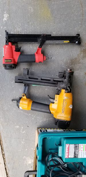 Bostich Stapler Gun and Husky nail gun for Sale in Oviedo, FL