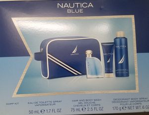 Nautica Blue men's Cologne Set for Sale in Detroit, MI
