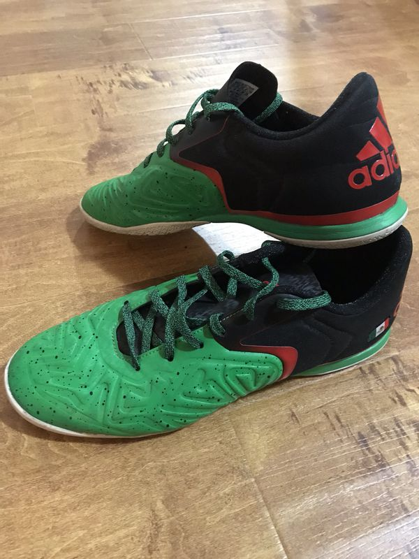 6998d0e3e86 Adidas X 15.2 Court - Green Black Red - Mexico for Sale in Los ...