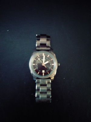Photo Fossil watch brown