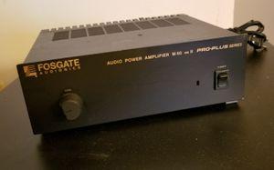 Fosgate M60 MkII mono power amp m 60 mk 2 amplifier center channel sub vintage for Sale in Hyattsville, MD