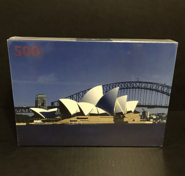 Sydney Australia opera house jigsaw puzzle 500 pieces, Brand new, sealed  for Sale in Bakersfield, CA - OfferUp