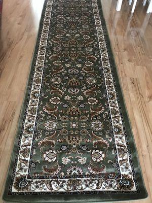 Brand new carpet runner size 3x10 nice green rug hallway runners for Sale in Fairfax Station, VA