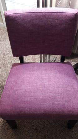 Purple chair accent Thumbnail