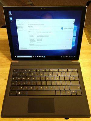 Surface Pro 4 Tab : Core i5/8GB RAM/256GB SSD + OFFICE 2019 pro for Sale in Rockville, MD