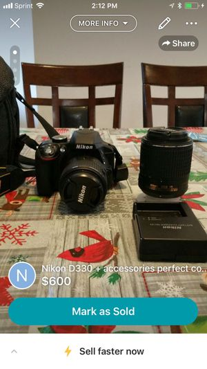Nikon D3300 and accessories for Sale in Manassas, VA
