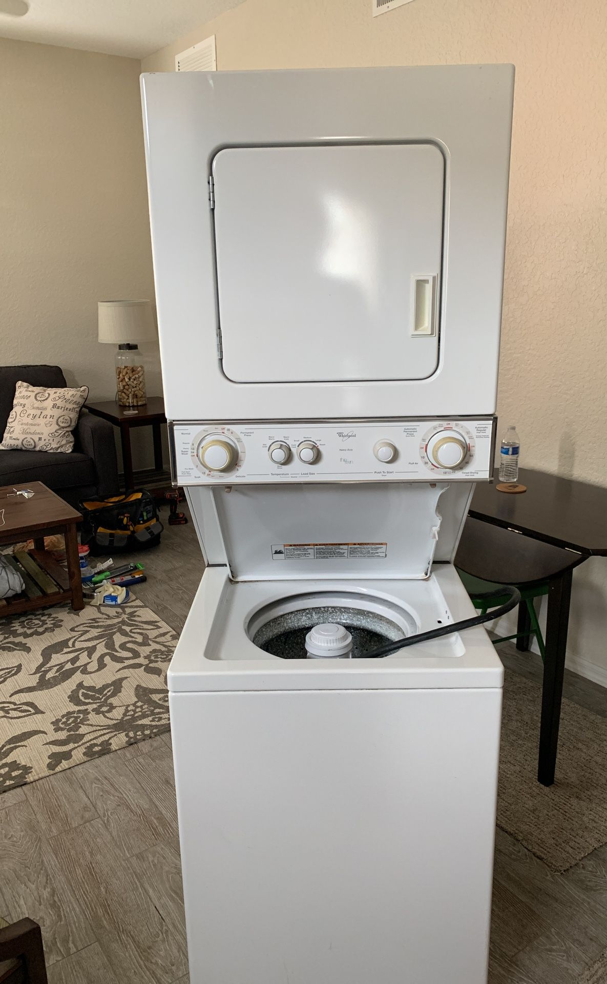 Whirlpool Thin Twin Stackable Washer Dryer