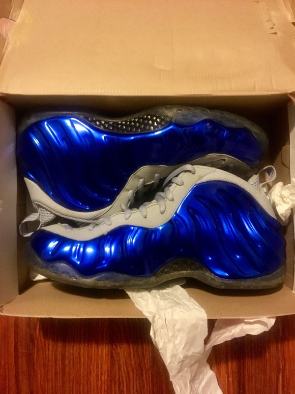 3860d49f4044a Wolf grey and royal blue foamposites!!! (Clothing   Shoes) in Brooklyn