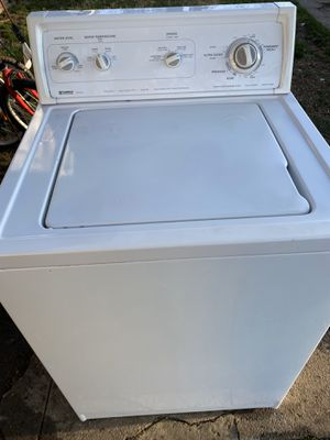 Photo Kenmore washer with 90 day warranty
