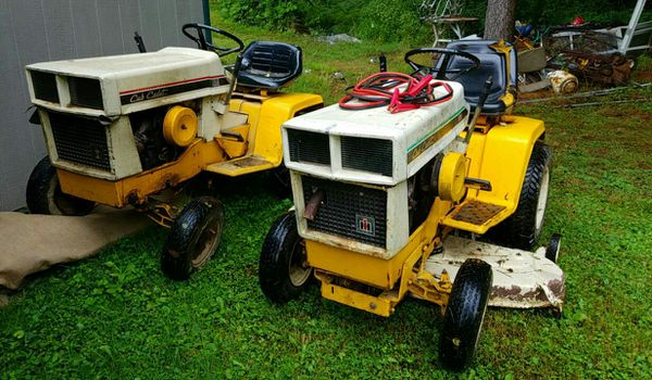 Cub cadet 108 and 129 for Sale in Mayport, PA - OfferUp