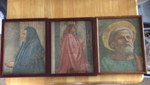 "Three Holy Pictures glass framed 12"" by 15"" for Sale in Apex, NC"