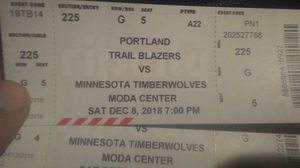 Blazer tickets for Sale in Portland, OR