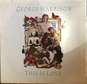 George Harrison Beatles 7-inch single vinyl record not LP album for Sale in Austin, TX