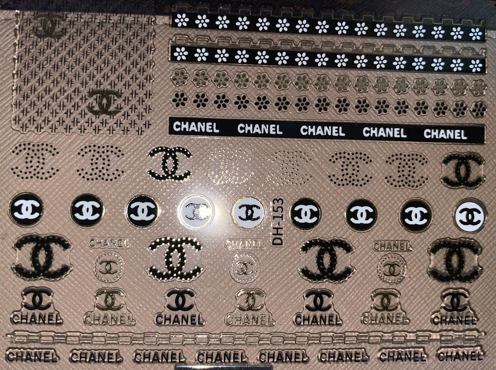 NEW Nail Sticker Sheet #7