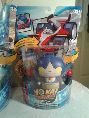 YO KAI CONVERTING FIGURES WITH WATCH CHIP for Sale in Hayward, CA