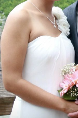 Wedding Dress- $900 OBO- Originally $1900- IVORY for Sale in Ashburn, VA