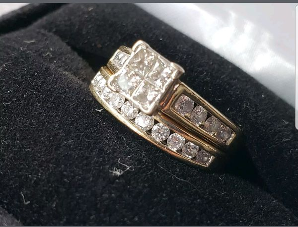7107eb652 Kay Jewelers bridal ring set with band 14ct gold DEAL!!! Douglasville ...