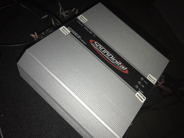 Big amps , subs , Custom box (used open box) for Sale in Bellflower, CA -  OfferUp
