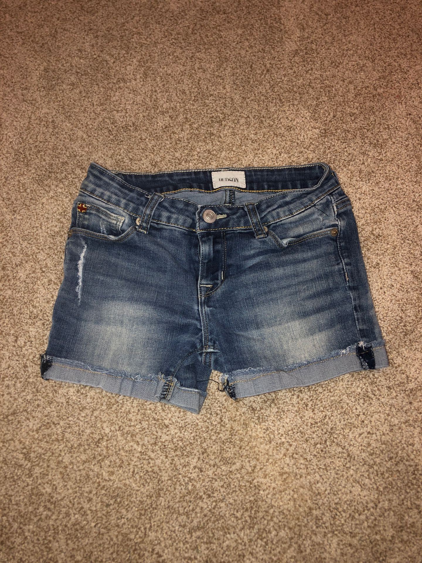 Hudson Girls Denim shorts size 12