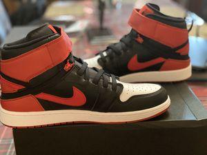 Photo Nike Air Jordan 1 HI Flyease Bred White Toe CQ3835-001 Men's Size 13 BRAND NEW. Box with no Lid
