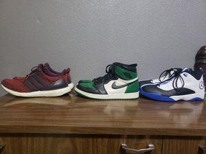 Photo Adidas Ultraboost, Jordan Retro 1, & Jordan Jumpman Pro