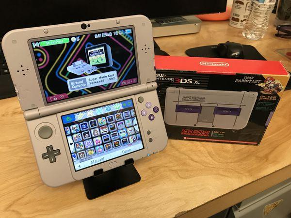 MODDED 128GB SNES 3DS XL 110+ games & NES/SNES Emulators for Sale in  Irvine, CA - OfferUp
