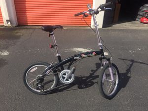 "7 speed 20"" AMC Back Bay foldable bicycle for Sale in Seattle, WA"