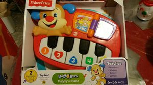 Babys Fisher Price Learning Piano for Sale in Allentown, PA
