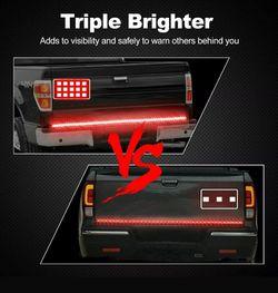 🚨🚦NEW 3X BRIGHTER TRUCK TAILGATE LED STRIP 3RD BRAKE LIGHT! 5 SIGNAL FUNCTIONS🚦🚨 Thumbnail
