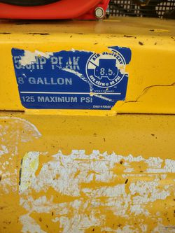 De-Walt Air Compressor Thumbnail