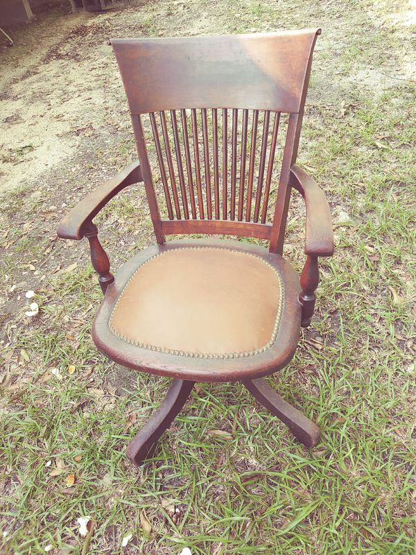 - Antique Bankers Chair For Sale In Deatsville, AL - OfferUp