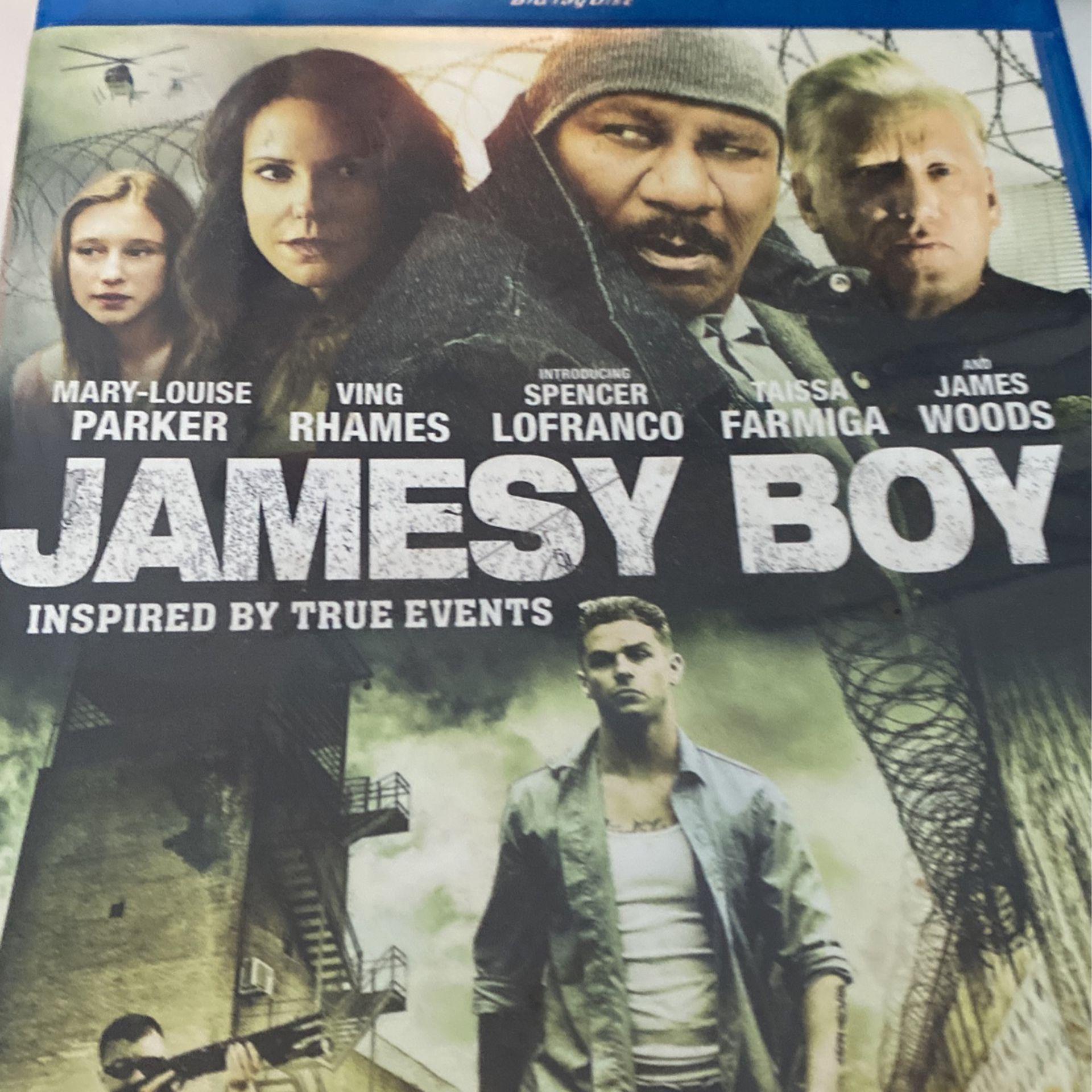 Jamesy Boy Blu-ray Disc
