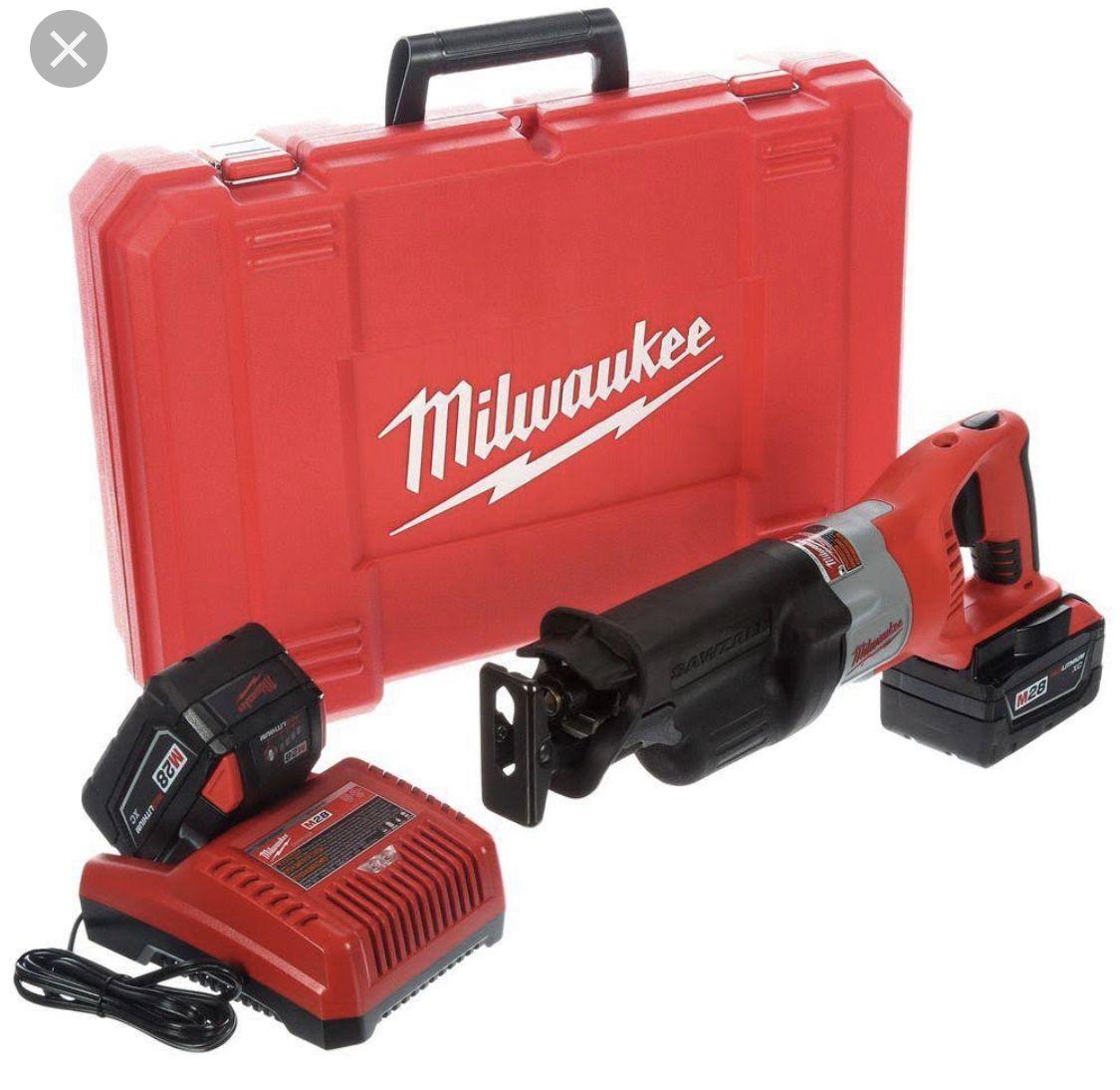 Milwaukee M28 Sawzall Kit