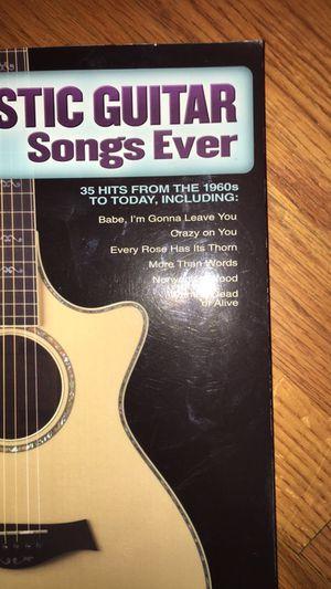 Acoustic guitar songbook for Sale in Deer Park, TX - OfferUp
